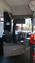 Jan als Busfahrer