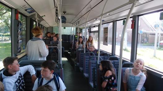 4a im Bus