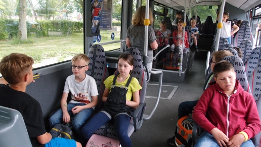 4b im Bus